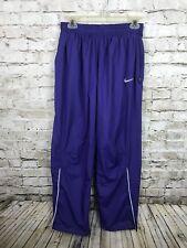 Nike VTG Old School Purple Windbreaker Jogger Reflective Pants Medium Women