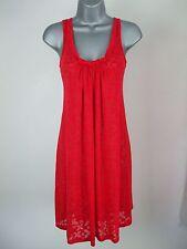 Ex M&S Beach Dress Kaftan Scoop Neck Flare Shift Summer Jersey Drape Size 10 14