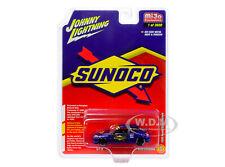 """1998 HONDA CIVIC CUSTOM BLUE """"SUNOCO"""" 1/64 DIECAST CAR JOHNNY LIGHTNING JLCP7193"""