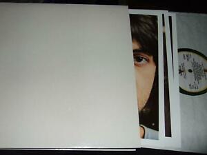 THE BEATLES : WHITE ALBUM AUDIOPHILE DMM DIGITALLY REMASTERED LP APPLE PCS 7067