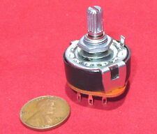 Alpha 2 Pole 4 Position Rotary Switch 300mA 125VAC Shorting Double Quad DP4T AB
