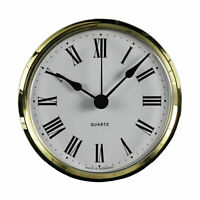 Uhrwerk-Quartz-Einsteckwerk Einbau-Uhr Modellbau-Uhr Ø 103 mm