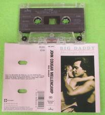 MC JOHN COUGAR MELLENCAMP Big daddy 1989 holland MERCURY no cd lp vhs dvd