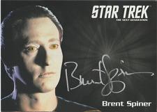 Brent Spiner 2015 Rittenhouse Star Trek autograph auto card