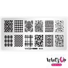 B026 Fashion Prints Stamping Plate For Stamped Nail Art Design