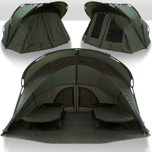 NGT Fortress Bivvy XL With Hood Or Overwrap Super Sized 2 MAN Fishing Tent 2021