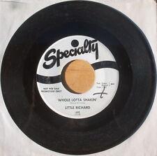 Rare White Label Promo Little Richard - Whole Lotta Shakin' & Maybe I'm Right