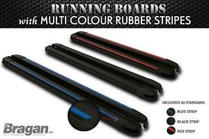 BLACK Running Boards For 2014+ Nissan NV300 SWB Aluminum Side Steps Multi Colour