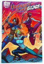 IDW DANGER GIRL/G.I. JOE (2012) #3 J. Scott CAMPBELL Connecting Cover NM (9.4)