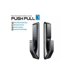 SAMSUNG Digital Push Pull doorlock EZON SHS-P710 [Pull from Outside]