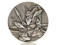 2015 2 oz Silver Coin ODIN Viking Series by Scottsdale Mint .999 Silver #A373