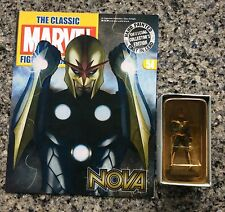 NIB The Classic Marvel Figurine Collection Eaglemoss - NOVA #54 +Magazine