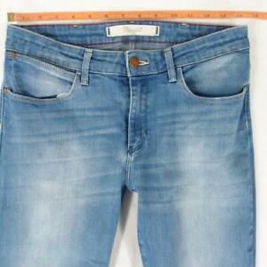 Ladies Womens Wrangler CORYNN Stretch Skinny Blue Jeans W29 L30 UK Size 10