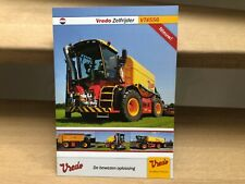 Vredo self-propelled agricultural Trac vehicle VT4556 brochure