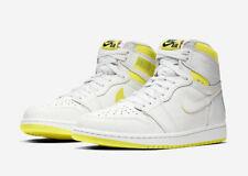 Nike Air Jordan 1 Retro High OG First Class 'Flight' White Yellow UK 8.5 US 9.5