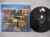 Sandy Nelson, Drummin' Up A Storm, Imperial LP 12189, RARE 1st Pressing Stereo