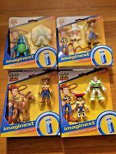 Imaginext toy story 4 Bunny & Buzz Forky & Woody Woody & Bullseye Buzz Lightyear