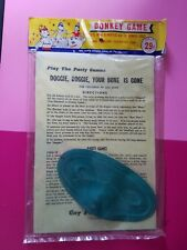 Vintage 60s Pin the Tail on the Donkey Game  By Gay Pary Favors Phili, PA
