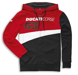 DUCATI Corse Sweatshirt Jacke Pullover Hoodie PECCO BAGNAIA MOTO GP Team 2021