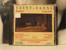 SAINT SAENS REQUIEM PSAUME XVIII MERCIER POLLET CD ADDA