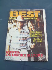 BEST 1982 167 ROLLING STONES TELEPHONE KIM WILDE CHARLELIE COUTURE