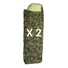 BRITISH ARMY DPM BIVI BAG - X 2 - GORETEX - USED - WATERPROOF - FREE POSTAGE
