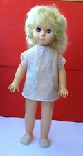1970's Ussr Soviet Russian Large Size Plastic Doll in Original Clothes