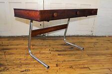 Gorgeous Mid Century Modern Rosewood Desk Baughman Style