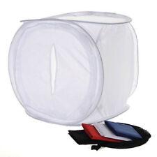 40x40cm Photo Studio Shooting Light Cube Box Tent+4Color Backdrops HY