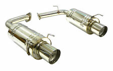 OBX Axle Back Exhaust 2007-2010 Toyota Camry V6 3.5L Rear Section Muffler