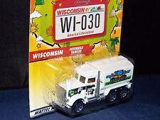 Matchbox Across America 50th Birthday Series #30 Wisconsin Peterbilt Tanker