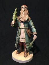 Duncan Royale History Of Santa 1/500 Signed Hand Carved Wood Sculpture Dolfi #1