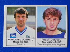 FIGURINA EDIS CALCIATORI 1985/86 - N.338 - OLIVOTTO/BOSCO - PESCARA - new