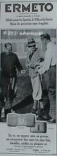 PUBLICITE MONTRE ERMETO BIJOU MOVADO SPORT GOLFEUR GOLF DE 1928 FRENCH AD WATCH