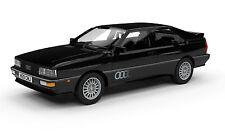 AUDI QUATTRO 20V PANTHER BLACK METALLIC CORGI/VANGUARDS VA12904 1:43