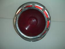 1963 Chevy Tail Light Housing, Lens, Chrome Trim Ring