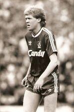 ORIGINALE stampa foto Liverpool FC Steve Staunton MAGGIO 1989