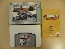 Juego de Nintendo 64 * F1 World Grand Prix elección de los jugadores * Completo N64 L0274