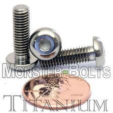 TITANIUM M5 x 16mm - DIN 9427 BUTTON HEAD Socket Cap Screw - BHCS - Ti Hex Allen