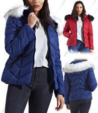 Manteaux et vestes parkas bleus pour femme