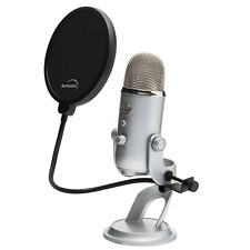 Auphonix 6-inch Pop Filter For Blue Yeti Microphone New Worldwide Shipping