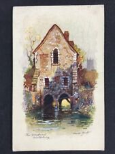 Vintage Postcard: Kent: #T41: The Greyfriars Canterbury: Anne Croft: Posted