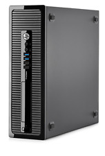 Hp ProDesk 600 G1 SFF Intel Core i5 4th Gen 8 GB Ram 500 GB HDD Windows 7 USB 3