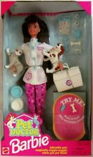 Pet Doctor Barbie Doll (Brunette)