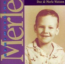Doc Watson, Doc Watson & Merle - Remembering Merle [New CD]