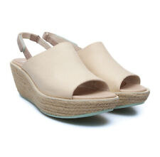 CAMPER Damas Esparta Espadrille Wedge Slingback SANDALS 39 8.5 9 Natural NEW