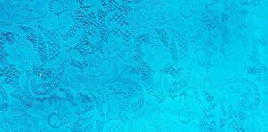 Stretch Nylon/Spandex lace fabric pieces