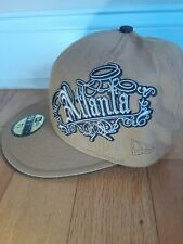 NEW ERA 59FIFTY Atlanta Braves Embroidered True Fitted Cap Size 7 1/4.