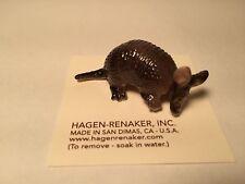 HAGEN RENAKER ceramic ARMADILLO Figurine #03342 NEW! Hand-crafted in CA, USA New