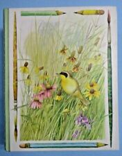 Hallmark Marjolein Bastin Bird Stationery . Nib . 15 Notes/Envelopes . In Box